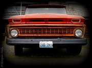 Christopher Fridley Prints - Twilight Chevrolet Print by Christopher Fridley