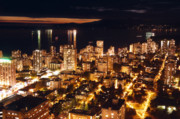 Urban Scenes Photo Originals - Twilight English Bay Vancouver MDLXVII by Amyn Nasser