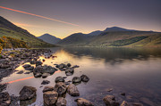 Lake District Framed Prints - Twilight Me Framed Print by Evelina Kremsdorf