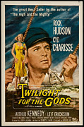 1950s Movie Stars Framed Prints - Twilight of the Gods 1958 Framed Print by Mountain Dreams