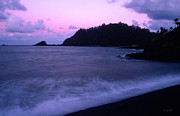 Hana Photos - Twilight on Hana 2 by Kathy Yates