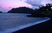 Hana Photos - Twilight on Hana by Kathy Yates