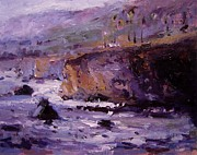 R W Goetting - Twilight on Pismo Beach
