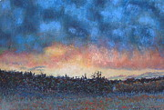 Storm Pastels - Twilight Storm by Gary Govett