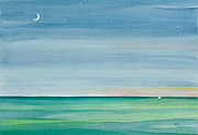 Florida Keys Paintings - Twilight Time by Michelle Wiarda