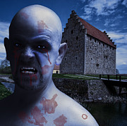 Vampire Photos - Twilight Vampire Man by Antony McAulay
