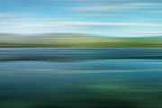 Abstraction Photo Posters - Twin Lakes Poster by Priska Wettstein