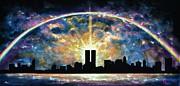 Twin Towers Live Again Print by Thomas Kolendra