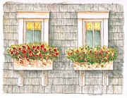 Balcony Originals - Twin windows - 1 by Carlos G Groppa