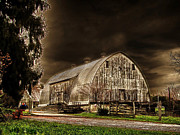 Barn Storm Prints - Twister Print by Brett and William Noble Scherer