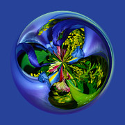 Orb Art - Twisting Orb by Brent Dolliver