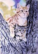 Two Amigos Print by Hendrik Hermans