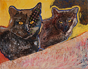 Yvonne Gaudet - Two Black Cats