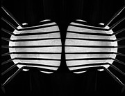 Two Chairs Print by Joseph Duba