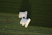 Murcia Photos - Two Crop Picking Machines At Rest by Steve Brockett