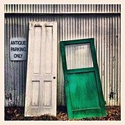 Signage Photos - Two Doors by Julie Gebhardt