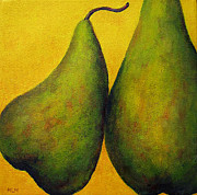 Print Like Paintings - Two Green Pears by Marie-louise McHugh