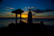 Isla Morada Prints - Two Lights to Follow Print by Rene Triay Photography
