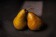 Dutch Framed Prints - Two Pear Framed Print by Peter Tellone