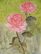 Pamela  Meredith - Two Pink Roses