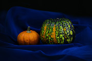 Joy Mixed Media - Two Pumpkins by Gynt