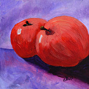 Claire Bull - Two Red Apples