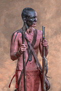 Woodland Indians Posters - Two Rifles Poster by Randy Steele