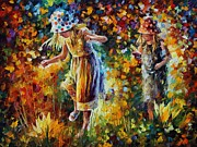 Leonid Afremov - Two Sisters