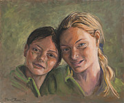 Marco Busoni Art - Two Sisters by Marco Busoni