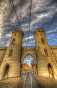 Old Town Digital Art - Two towers Potsdam by Nathan Wright