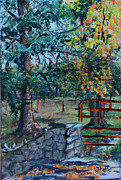 Janet Felts - Two Trees and a Gate