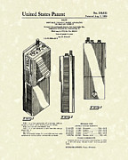 Device Drawings Framed Prints - Two-Way Radio 1976 Patent Art Framed Print by Prior Art Design