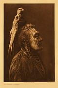 Drawing Art - Two Whistles  Apsaroke The North American Indian v 04 1908 by MotionAge Art and Design - Ahmet Asar