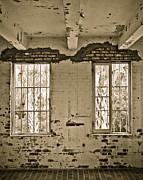 Abandoned Houses Photos - Two Windows by Marilyn Hunt