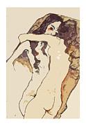 Stefan Kuhn - Two women hugging himself 1911
