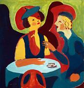 Stefan Kuhn - Two Women in a cafe 1929