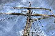 Tall Ships Photo Framed Prints - Two years before the Mast Framed Print by David Bearden