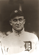 Hall Of Fame Framed Prints - Ty Cobb 1915 Framed Print by Unknown