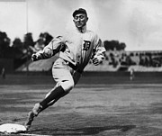 Mlb Photo Prints - Ty Cobb Print by Sanely Great