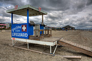 Lifeguard Photos - Tybee Island Lifeguard Stand by Peter Tellone