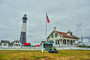 Tybee Island Lighthouse Print by Donnie Smith
