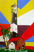 Pete Maier Art - Tybee Lighthouse II by Pete Maier