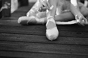 Laura  Fasulo - Tying The Pointe Shoes
