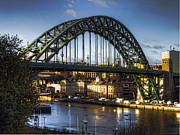 John Adams Prints - Tyne bridge Print by John Adams