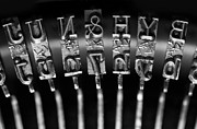 Typewriter Art - Type Castings by Dan Holm