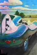 Automobilia Paintings - Type D by Robert Hooper