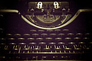 Typewriter Keys Framed Prints - Typeset Framed Print by Brandon Addis