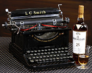 Moon Time Photo - Typewriter And Macallan...