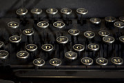 Typewriter Keys Photos - Typewriter Keys by Jessica Berlin