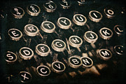 Typewriter Keys Prints - Typewriter Keys Print by Pam  Holdsworth